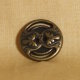 Muench Metal Buttons - Slotted Filigree - Bronze