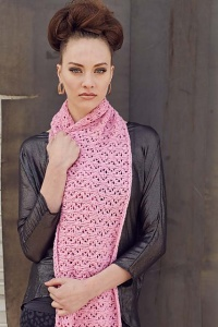 Cascade Cloud Chicago Scarf Kit - Scarf and Shawls