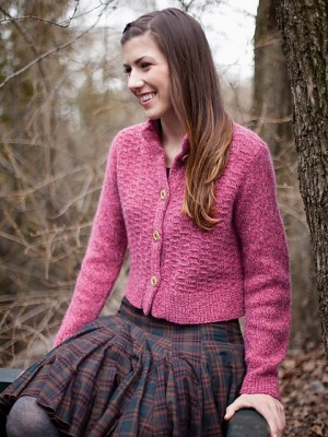 Berroco Blackstone Tweed Juli Cardigan Kit - Women's Cardigans