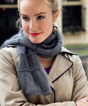 Rowan Kidsilk Haze Uptown Scarf Kit - Scarf and Shawls