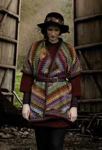 Rowan Felted Tweed Kilim Wrap Kit - Scarf and Shawls