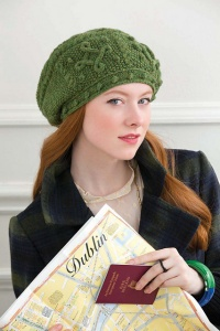 Universal Deluxe Worsted St. Patrick's Day Beret Kit - Hats and Gloves