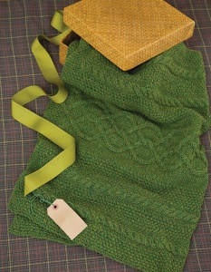 Universal Deluxe Worsted Emerald Isle Lap Blanket Kit - Home Accessories
