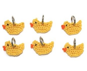 Lantern Moon Stitch Markers - Rubber Ducks (Discontinued)