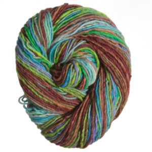 Noro Shiraito Yarn - 37 Brown. Blue, Seafoam, Dark Sienna