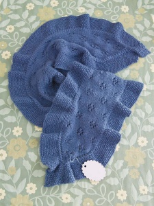 Universal Deluxe Worsted Mother's Day Ruffled Scarf Kit - Scarf and Shawls