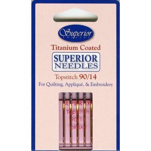 Superior Threads Titanium Coated Superior Needles