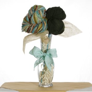 Jimmy Beans Wool Koigu Yarn Bouquets - Noro Slouchy Beret Bouquet - Forest (Discontinued)