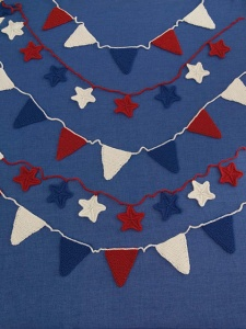Universal Deluxe Worsted Star Spangled Bunting Kit - Home Accessories