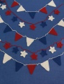 Universal Deluxe Worsted Star Spangled Bunting
