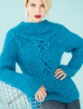 Lorna's Laces Haymarket Applied Cable Fisherman's Rib Top Kit