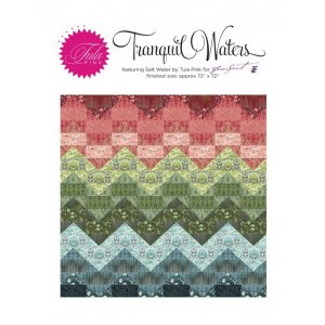 Tula Pink Tranquil Waters Salt Water Quilt Kit - Home Accessories