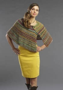 Wisdom Yarns Saki Bamboo Sonoma Skies Shawl Kit - Scarf and Shawls