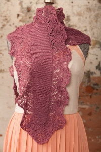 Fyberspates Scrumptious Lace Imogene Shawl Kit - Scarf and Shawls
