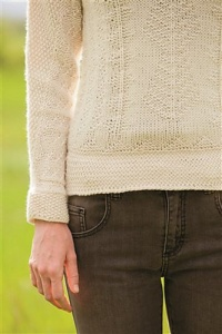 Swans Island Natural Colors Worsted Leeward Pullover Kit - Women's Pullovers