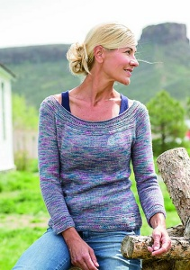 Madelinetosh Pashmina Clear Creek Pullover Kit - Women's Pullovers