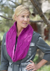 Cascade Venizia Worsted Nexus Cowl Kit - Scarf and Shawls