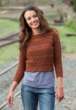 Berroco Ultra Alpaca Light Filtered Pullover Kit - Women's Pullovers