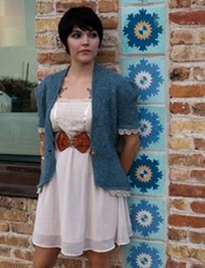 Berroco Blackstone Tweed Sarah Rose Sweater Kit - Women's Cardigans
