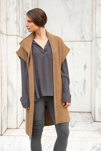Shibui Baby Alpaca Shift Vest Kit - Vests