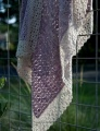 Madelinetosh Pashmina and Merino Light Sweet Azalea Crocheted Blanket Kit
