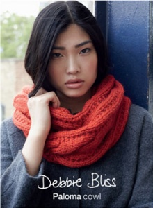 Debbie Bliss Paloma Cowl Kit - Scarf and Shawls