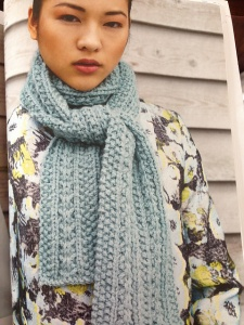 Debbie Bliss Paloma Scarf Kit - Scarf and Shawls