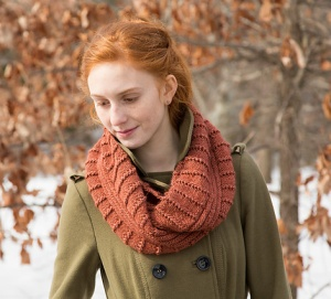 Classic Elite Magnolia Scilla Cowl Kit - Scarf and Shawls