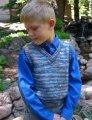 Knitting Pure and Simple Baby & Children Patterns - 0256 - Basic Vest for Children