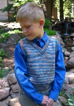 Knitting Pure and Simple Patterns - Baby & Children Patterns - 0256 - Basic Vest for Children