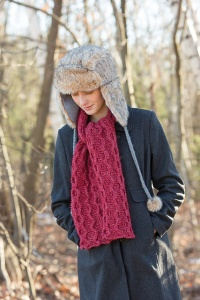 Classic Elite Majestic Tweed Heir Apparent Scarf Kit - Scarf and Shawls