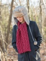 Classic Elite Majestic Tweed Heir Apparent Scarf Kit