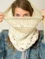 The Fibre Company Tundra and Be Sweet Magic Ball Sugarplum Cowl Kit