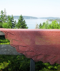 The Fibre Company Acadia Scheiffelin Point Shawl Kit - Scarf and Shawls
