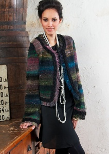 Noro Cyochin Midnight Cookie Jacket Kit - Women's Cardigans
