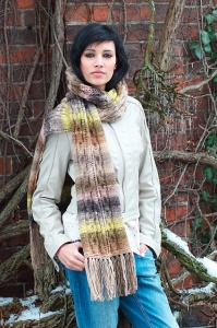 Noro Shiro Zesty Lemons Scarf Kit - Scarf and Shawls