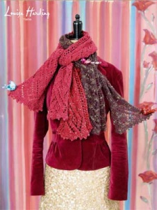 Louisa Harding Grace Hand-Beaded Cosimo Scarf Kit - Scarf and Shawls