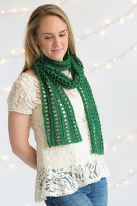 Classic Elite Ava Notre Dame Scarf Kit - Scarf and Shawls