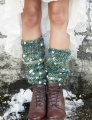 Knit Collage Daisy Chain Chelsea Morning Legwarmers Kit