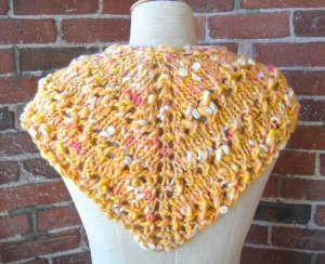 Knit Collage Daisy Chain Bandana Cowl Kit - Scarf and Shawls