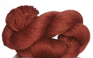 Blue Sky Fibers Alpaca Silk Yarn - 126 Brick (Discontinued)