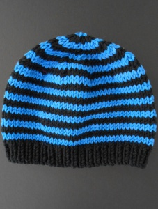Filatura di Crosa Zara 14 Hat Trix Simple Stripes Hat Kit - Hats and Gloves