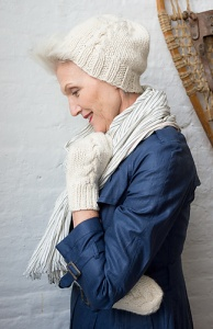 The Fibre Company Svalbard Hat & Mittens Kit - Hats and Gloves