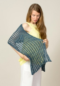 The Fibre Company Meadow Shallot Shawl Kit - Scarf and Shawls