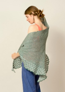 The Fibre Company Meadow Allium Shawl Kit - Scarf and Shawls