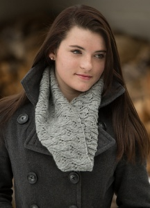 Swans Island Worsted Ava Cowl Kit - Scarf and Shawls