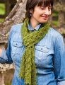 Isager Spinni Wool 1 Fir Cone Lace Shawl or Scarf Kit