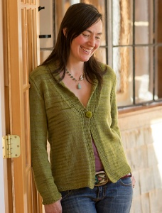 Swans Island Natural Colors Worsted Natalie Cardigan Kit - Women's Cardigans