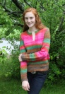 Classic Elite Liberty Wool Print Sugar Magnolia Pullover Kit