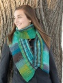 Classic Elite Liberty Wool Print Two Direction Scarf Kit
